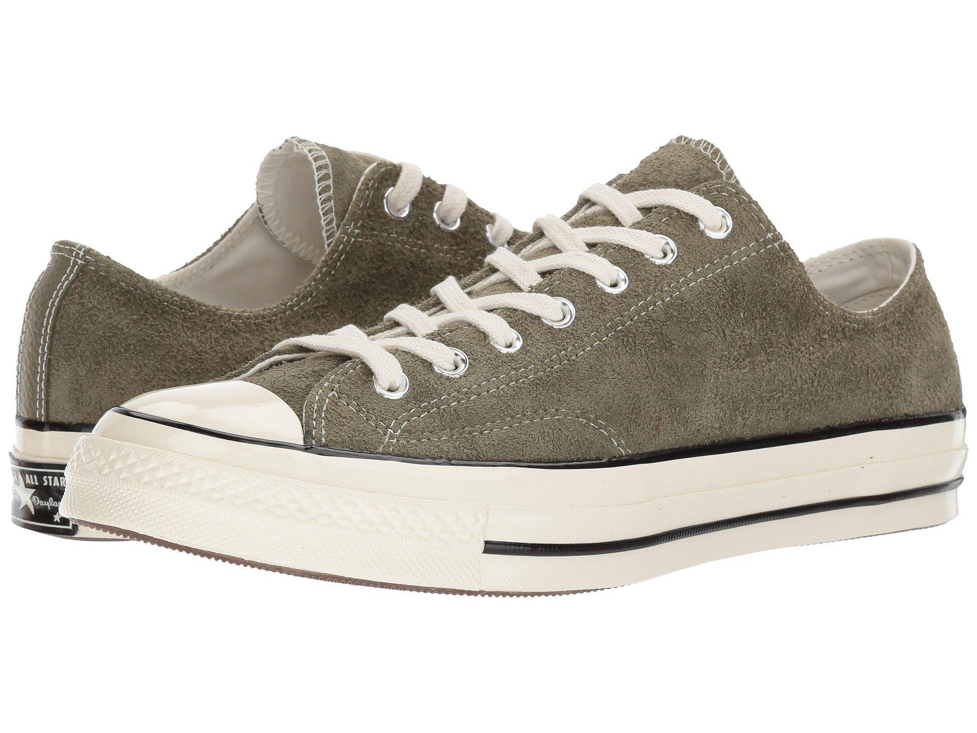 2126457fe264 Converse Chuck Taylor All Star  70 Ox In Medium Olive Egret Egret ...