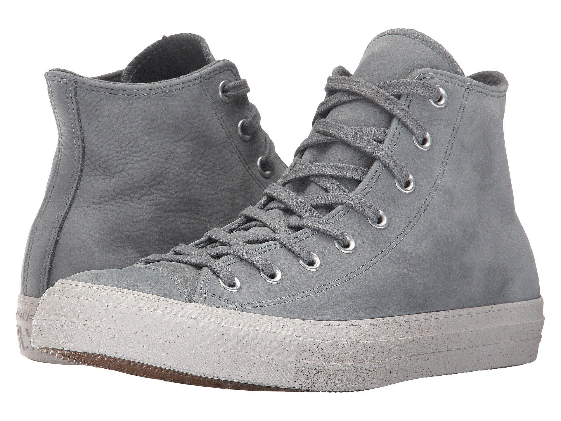 9cef42b7075673 Converse Chuck Taylor All Star Nubuck Hi In Cool Grey Malted Pale Putty