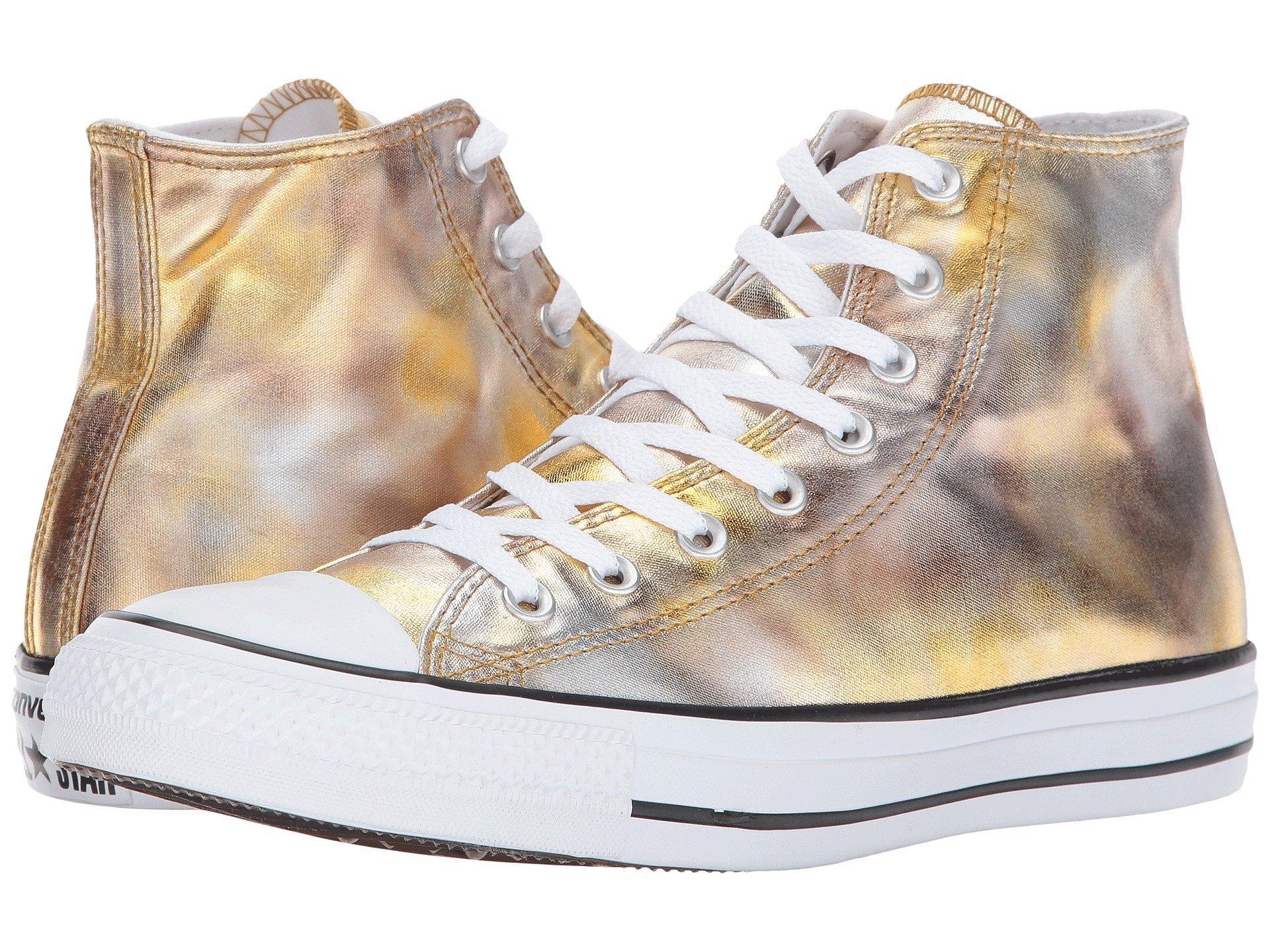converse chuck taylor metallic canvas