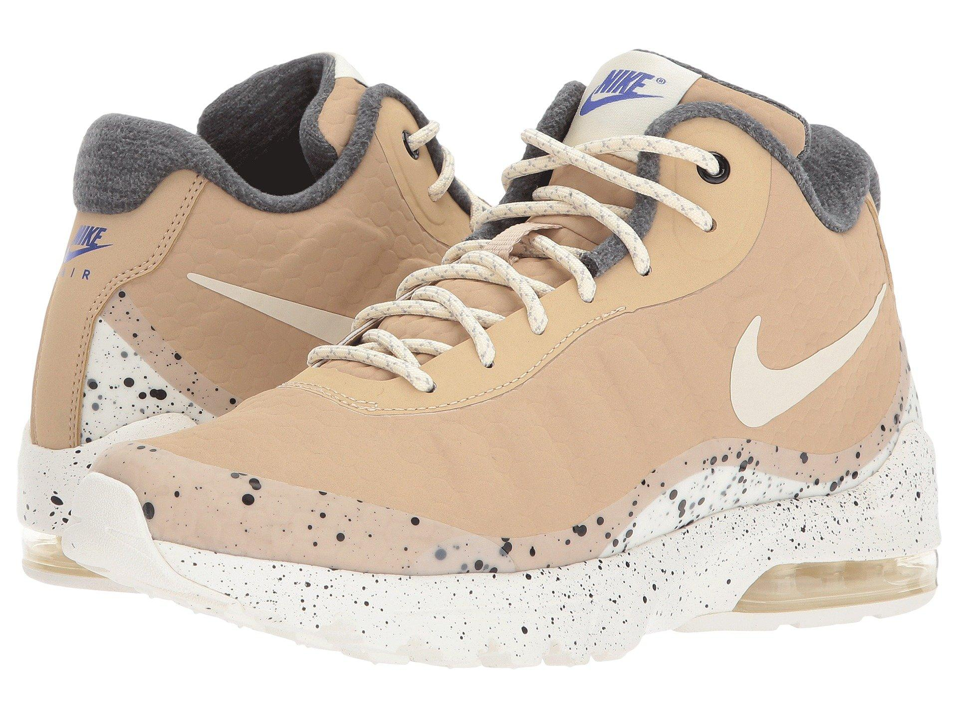 nike air max invigor mid beige