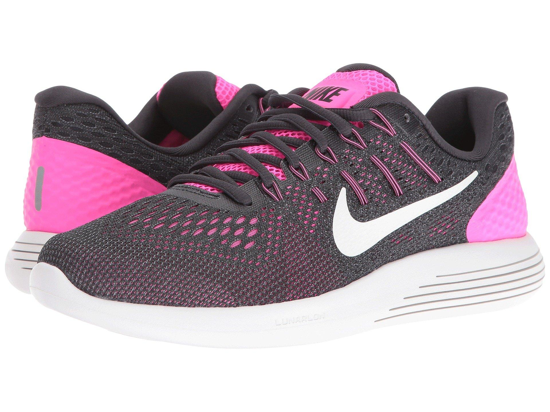 uk availability e3478 5f240 Nike Lunarglide 8, Pink Blast Anthracite Cool Grey Summit White