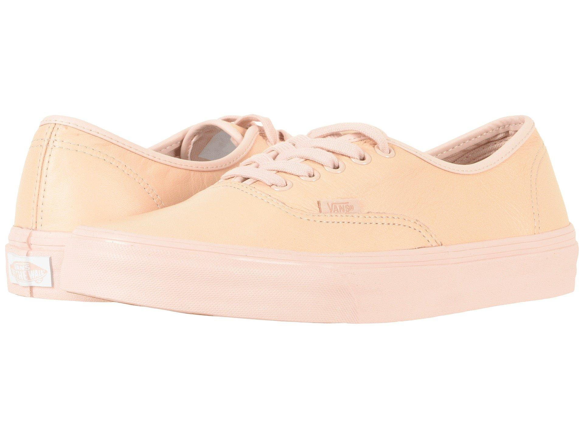 b93496ba78eb54 Vans Authentic™ In (Leather) Mono Sepia Rose