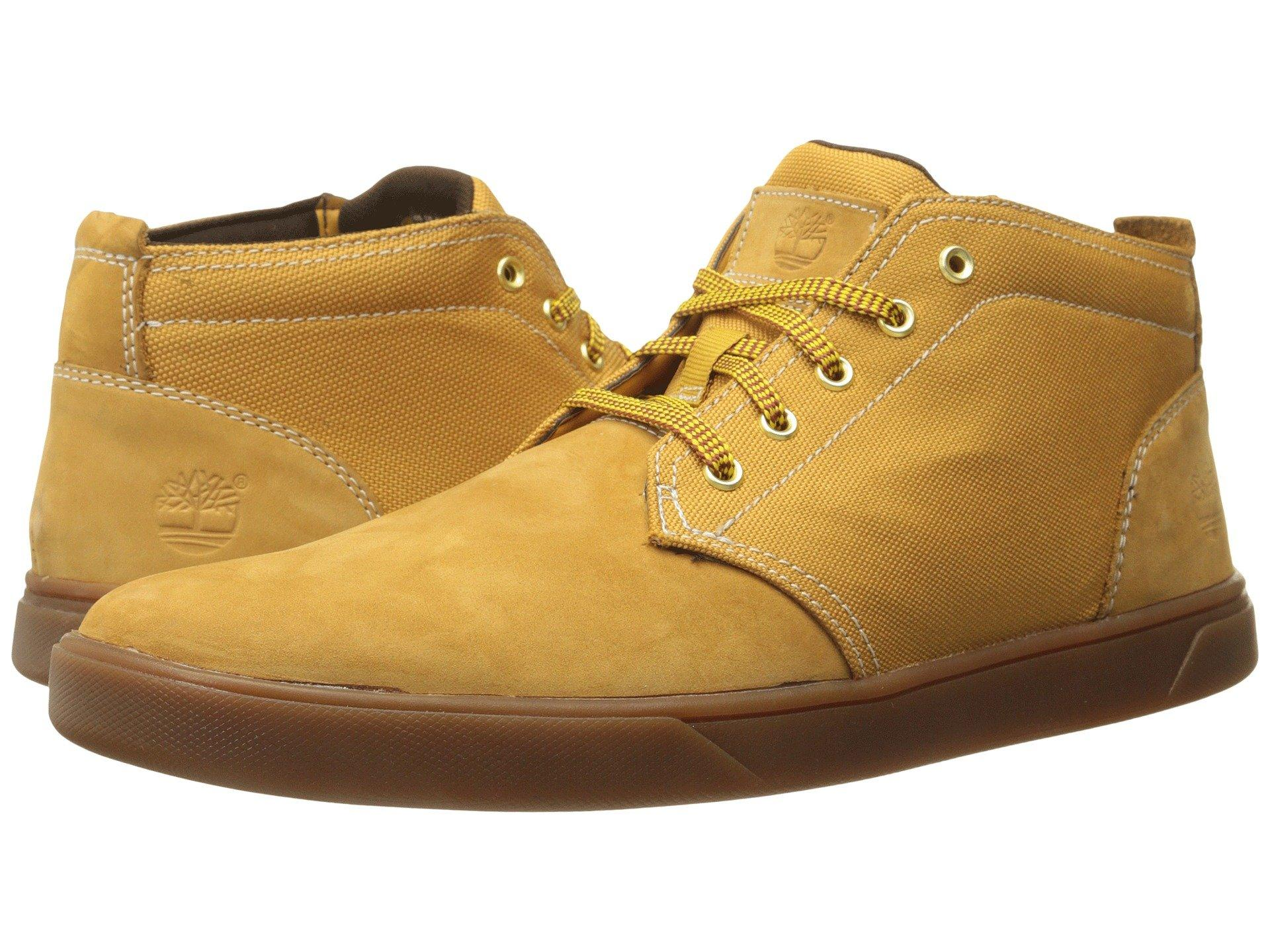 b5ac12f05e3 Groveton Leather And Fabric Chukka, Wheat Nubuck/Canvas 1
