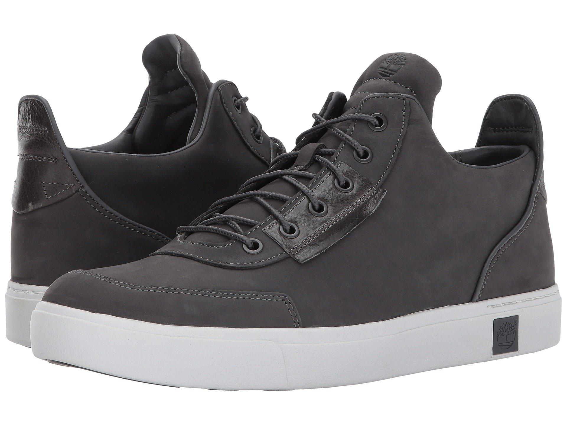 Amherst High Top Chukka in Dark Grey Nubuck