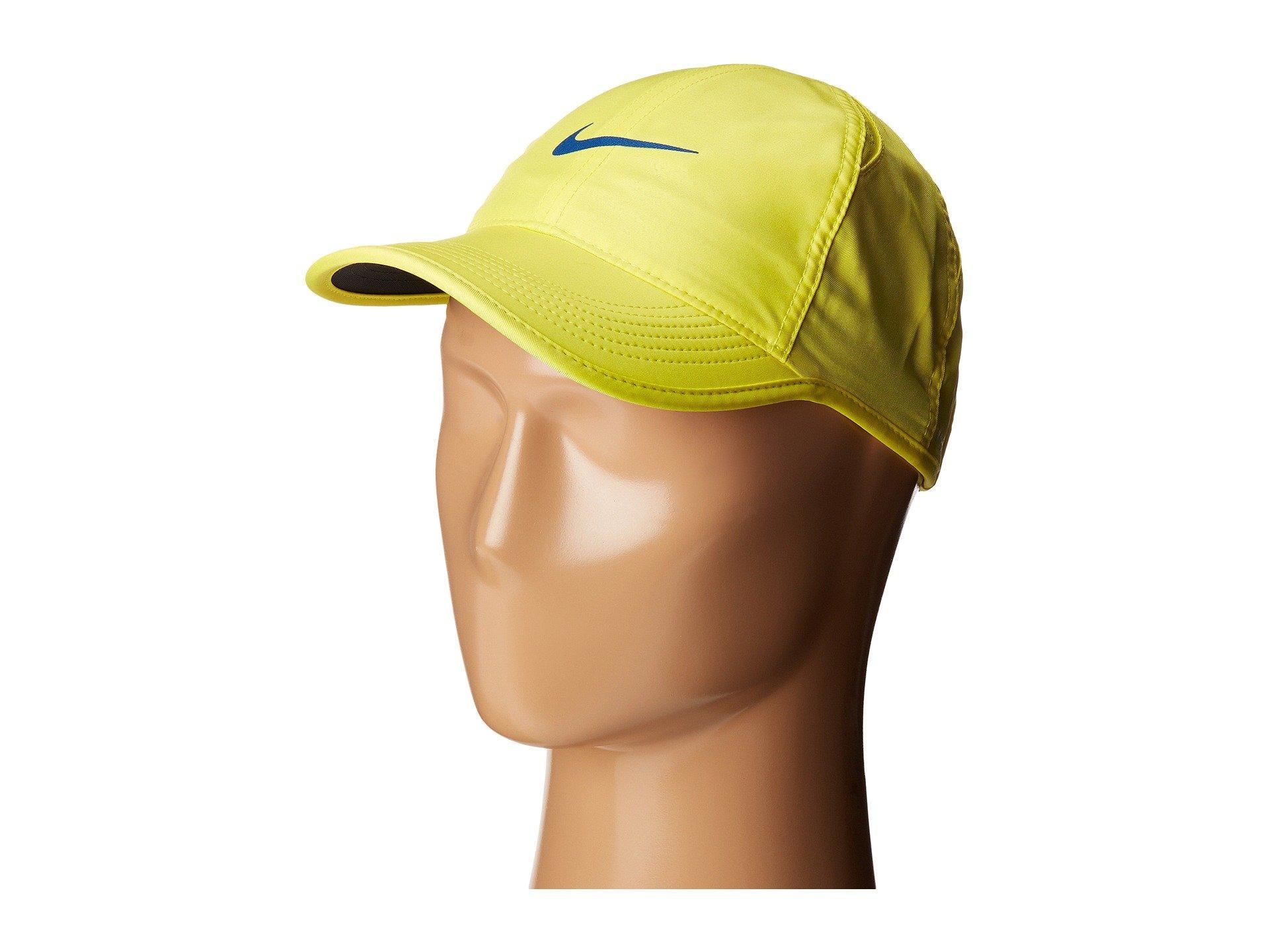 3143e219f30 Nike Featherlight Cap – Women s In Sonic Yellow Black Sonic Yellow Blue Jay