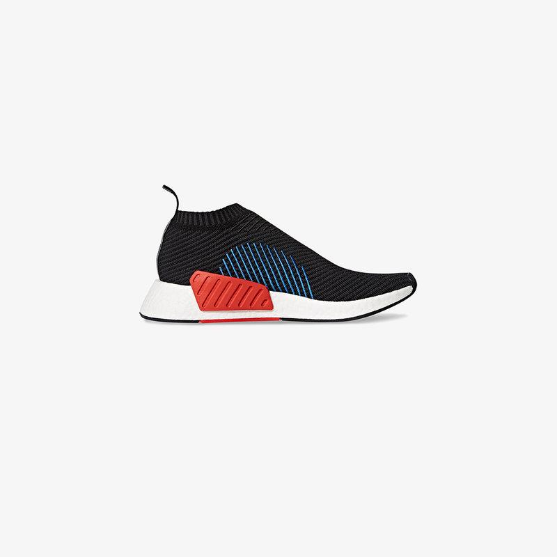 2d56fe003 Adidas Originals Nmd Cs Primeknit Sneakers In Black Cq2372 - Black ...