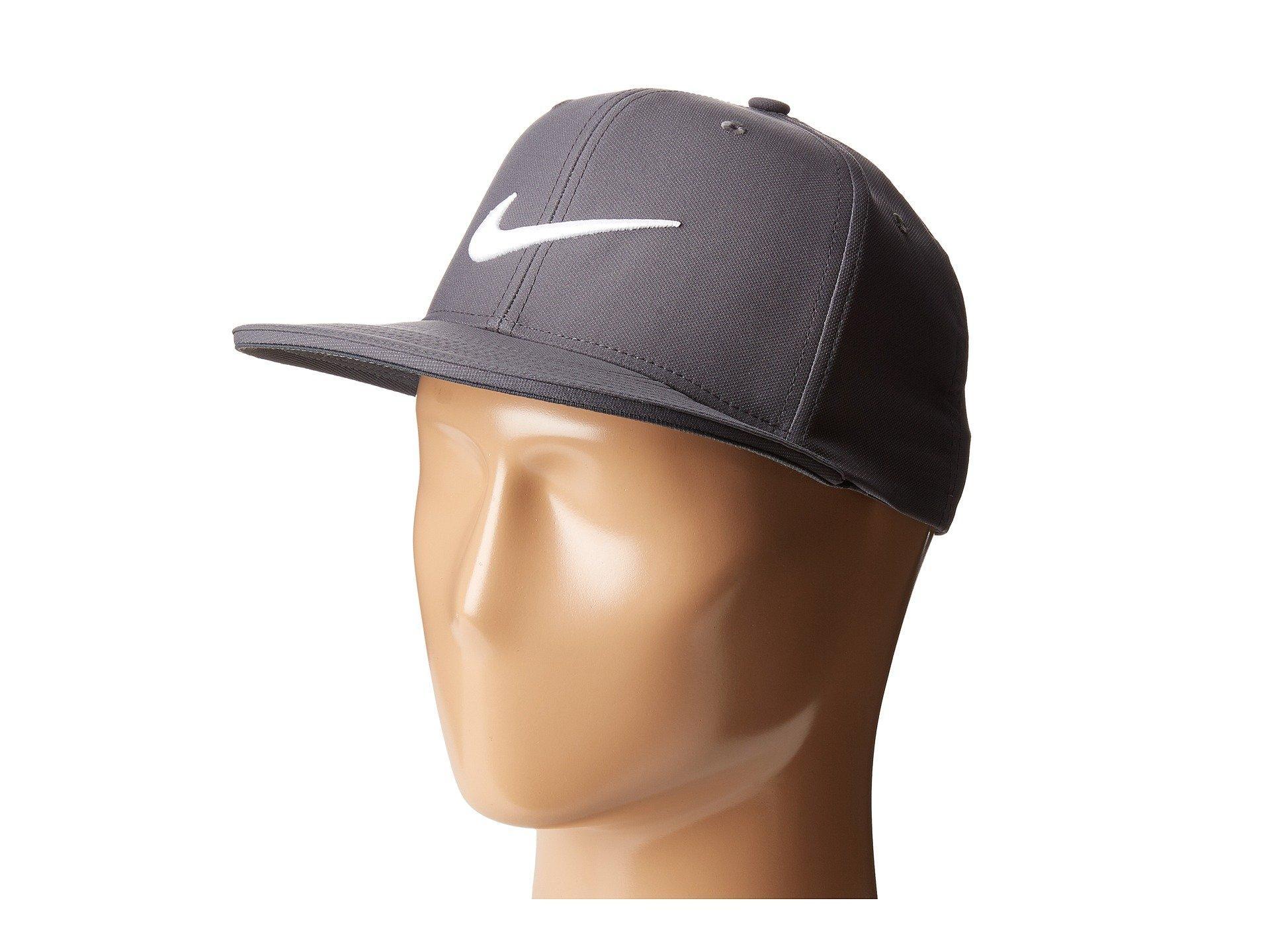 Nike True Statement Cap In Dark Grey/Dark Grey/White