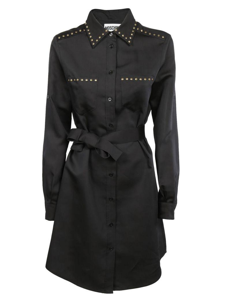 Moschino Self Belted Coat