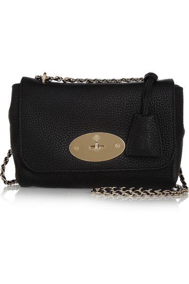 Mulberry Lily Small Textured-Leather Shoulder Bag
