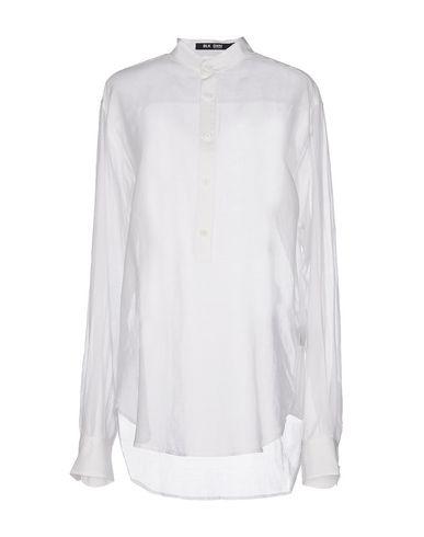 Blk Dnm Blouse In White