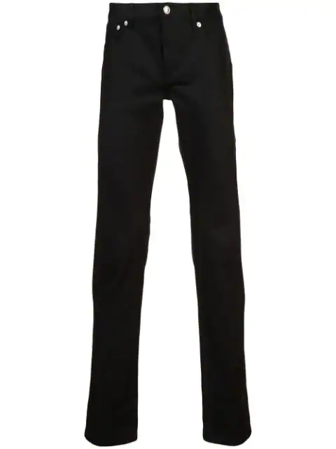 A.P.C. Petit New Standard Slim Fit Jeans In Black