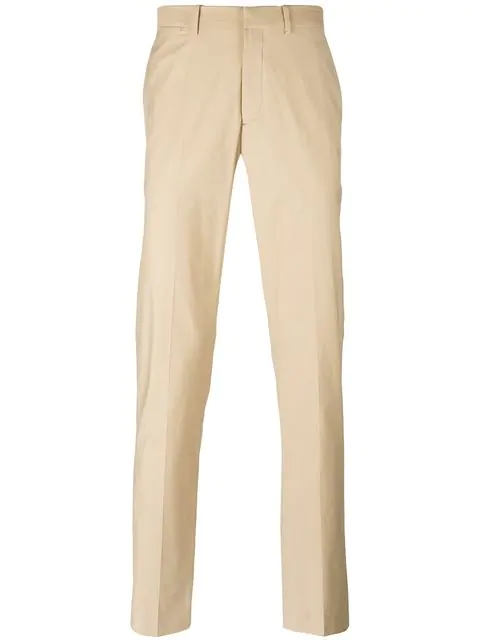 Theory Marlo Remsin Trousers In Neutrals