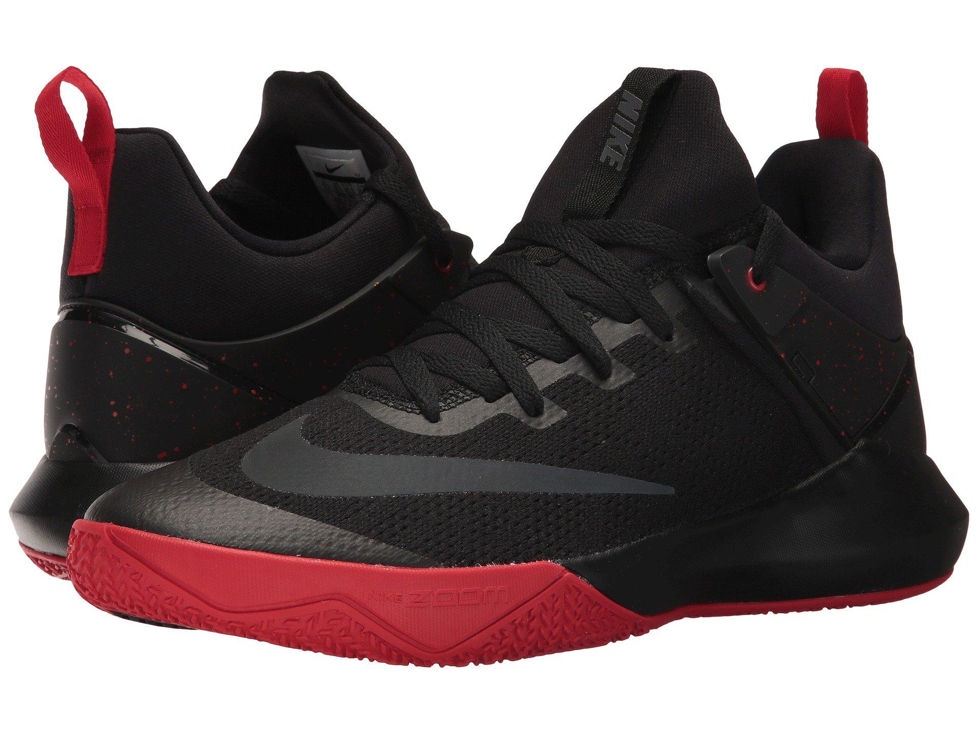 7f2ae12cd304b Nike Zoom Shift In Black Anthracite University Red