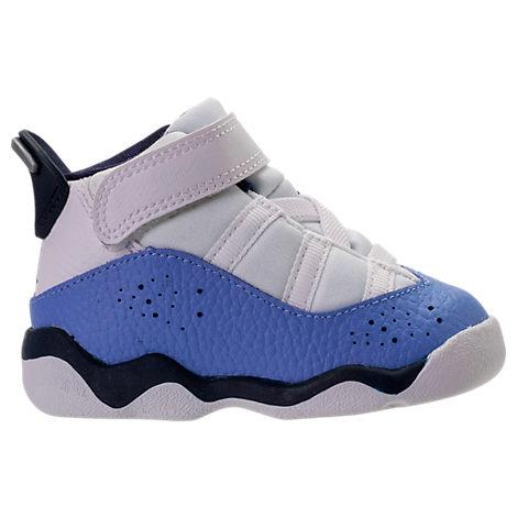 fb36fdde8517 Nike Girls  Toddler Jordan 6 Rings Basketball Shoes