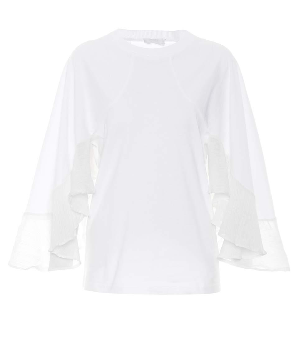 ChloÉ Cotton T-Shirt In White