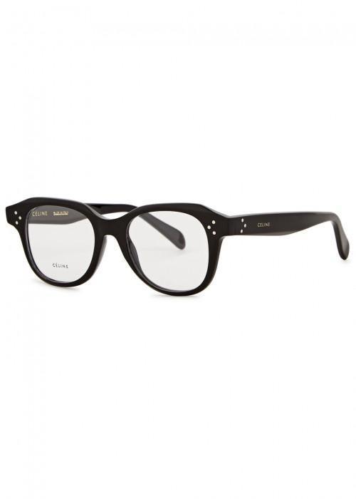 6f668718d3 Celine Emily Oval-Frame Optical Glasses In Black. Harvey Nichols