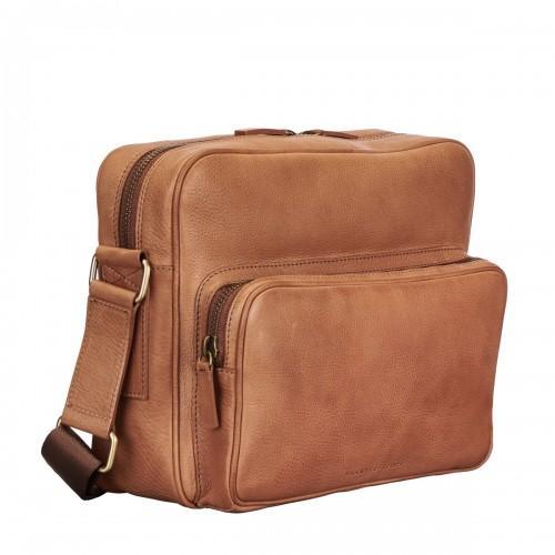 1b0d30ab3ba Maxwell Scott Bags Camel Soft Full Grain Leather Men S Messenger Bag ...