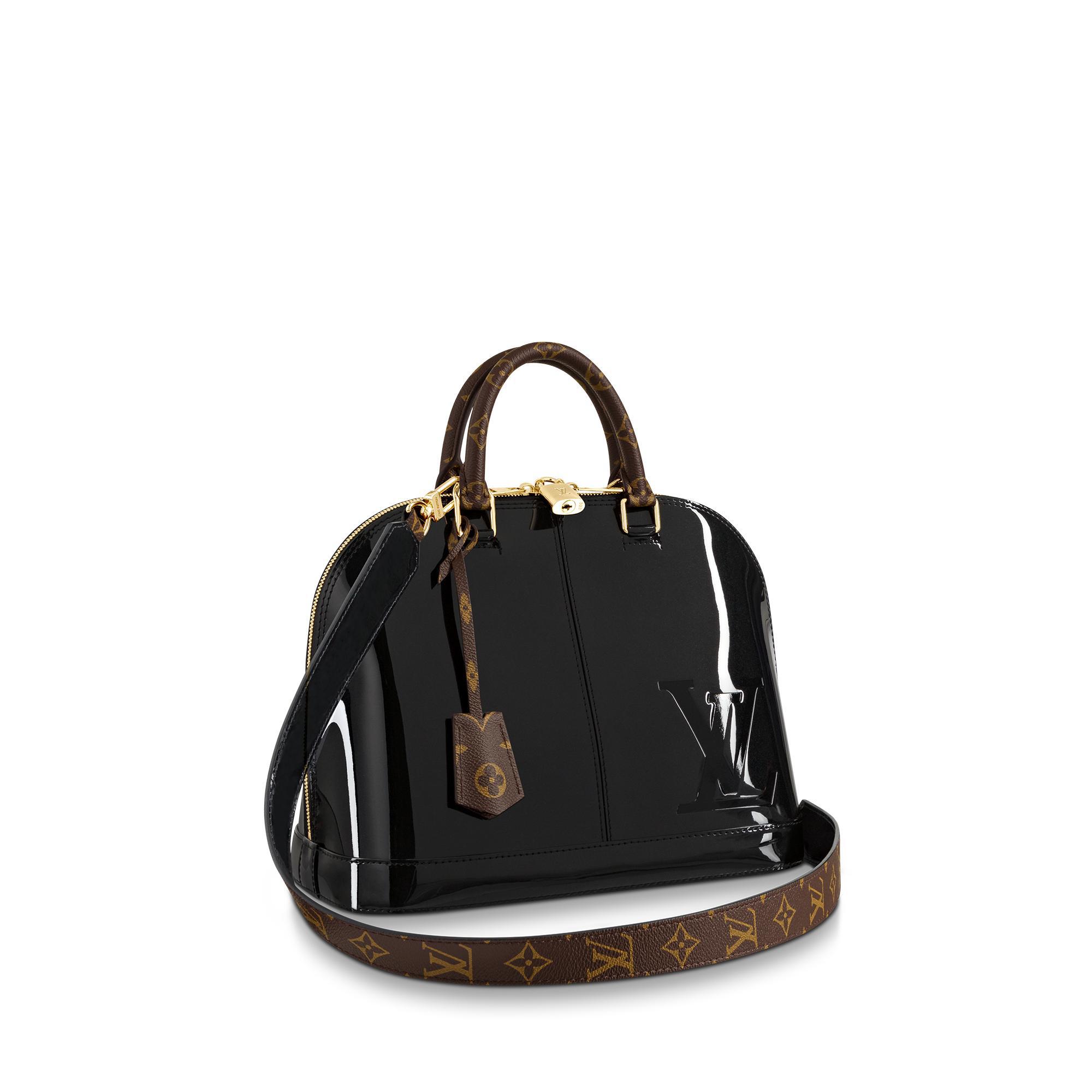 da97336302a6 Louis Vuitton Alma Pm In Patent Leather
