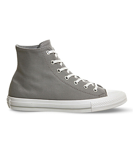 Converse Gemma Chuck Taylor Canvas High-top Trainers In Grey White