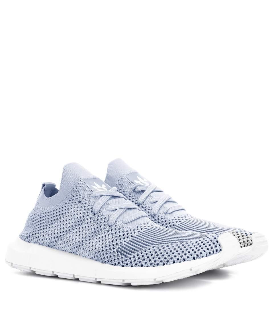 a117ee7c8 Adidas Originals Swift Run Primeknit Sneakers In Grey