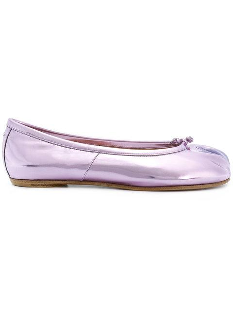 Maison Margiela Tabi Ballerinas In Pink