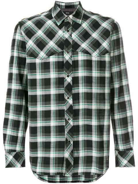 Diesel S-Planet Shirt - Black