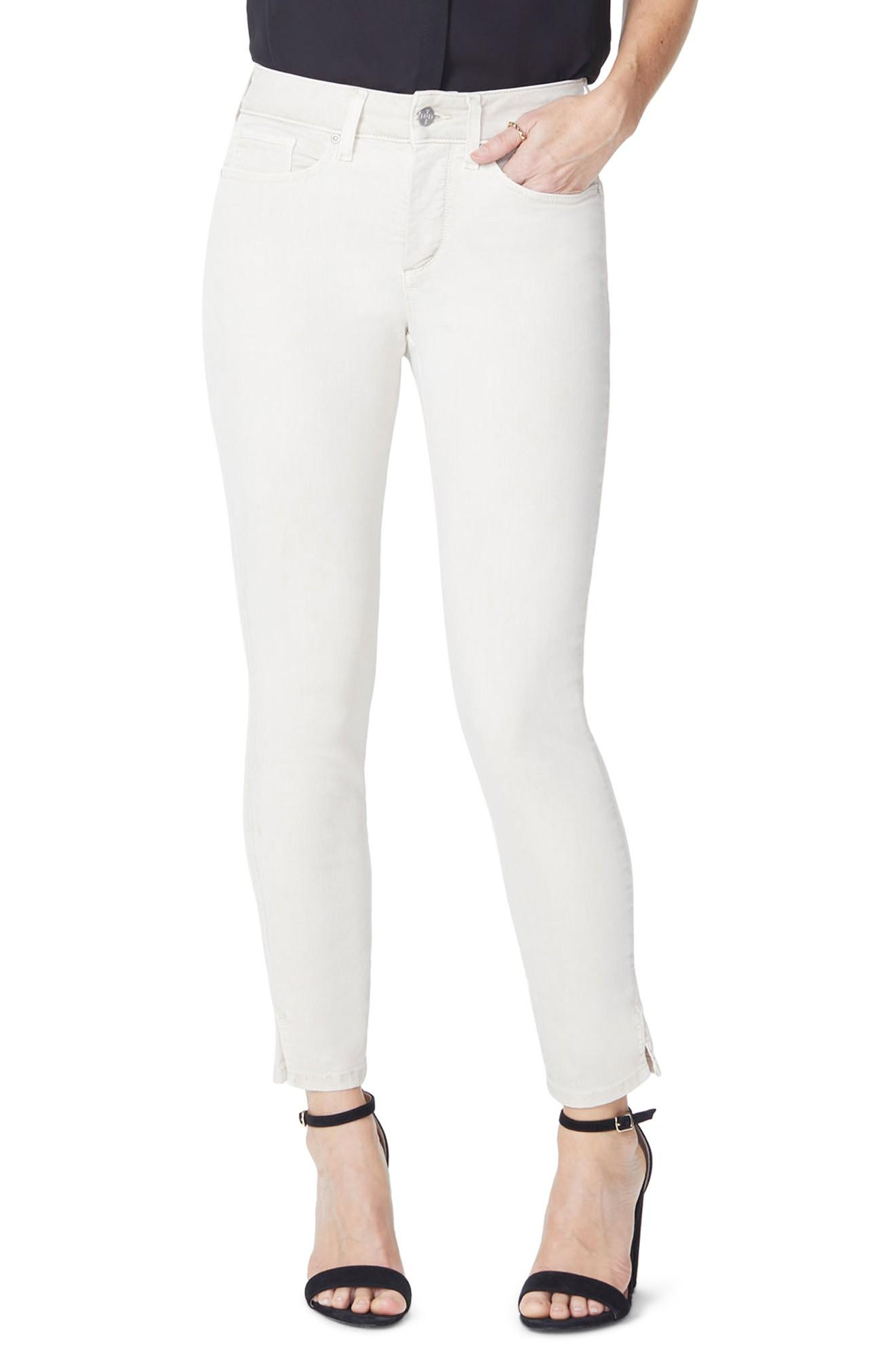 69262ad793c Nydj Ami Stretch Ankle Skinny Jeans In Feather | ModeSens