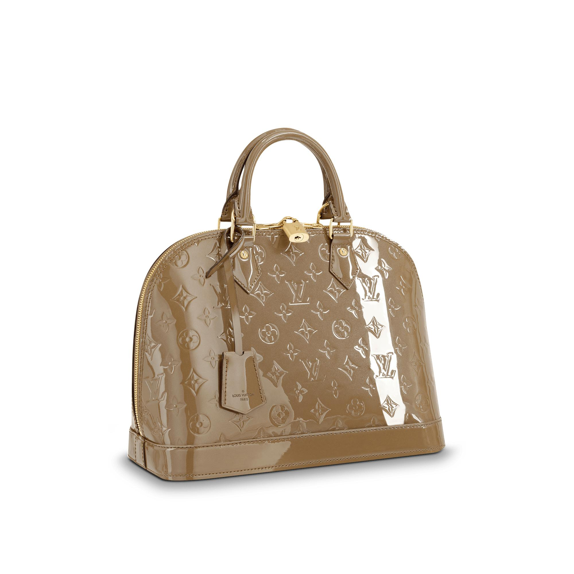 aeb4015dc2c4 Louis Vuitton Alma Pm In Vert Bronze