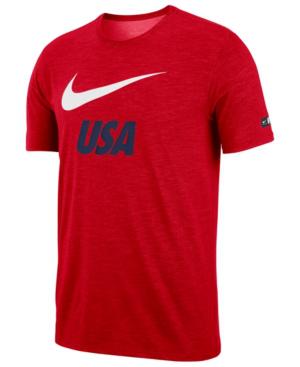 Nike Men's Logo T-Shirt In Universal Red