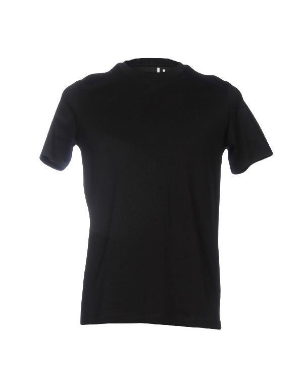 Acne Studios Black Cotton T-Shirt