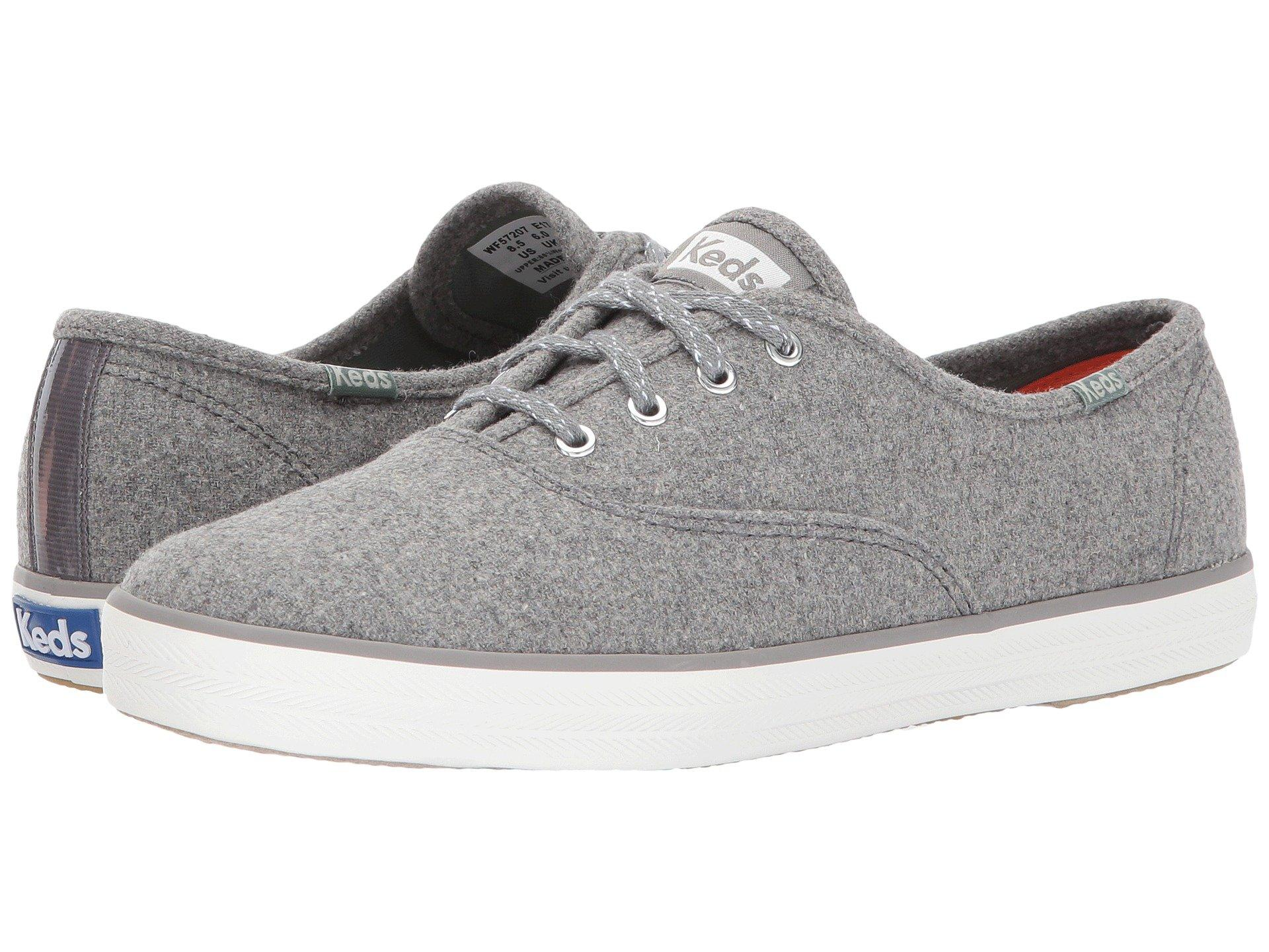 f185f3b82a0 Keds Champion Wool In Gray