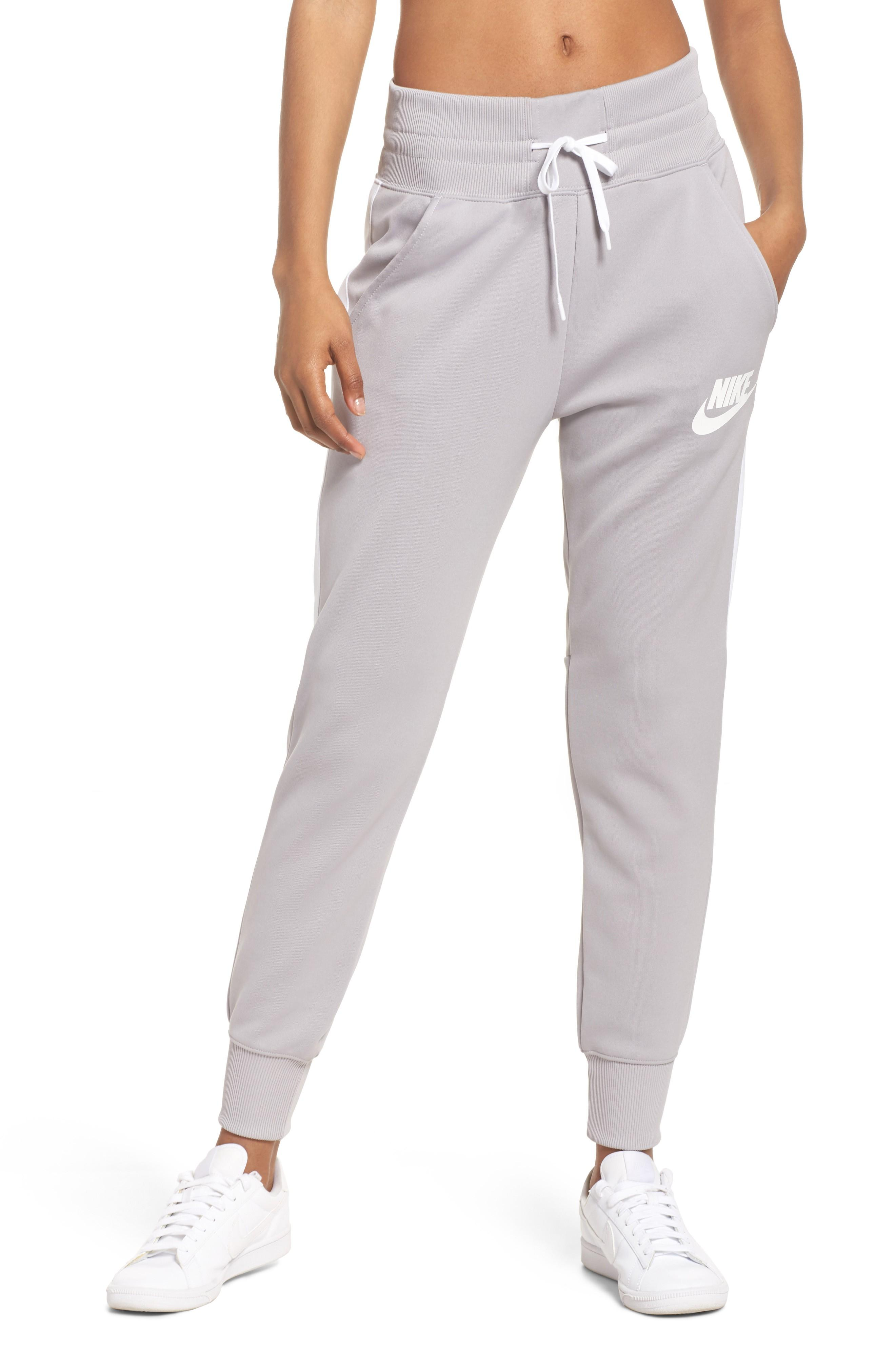 5ffe42abec4e Nike Sportswear Jogger Pants In Atmosphere Grey  White