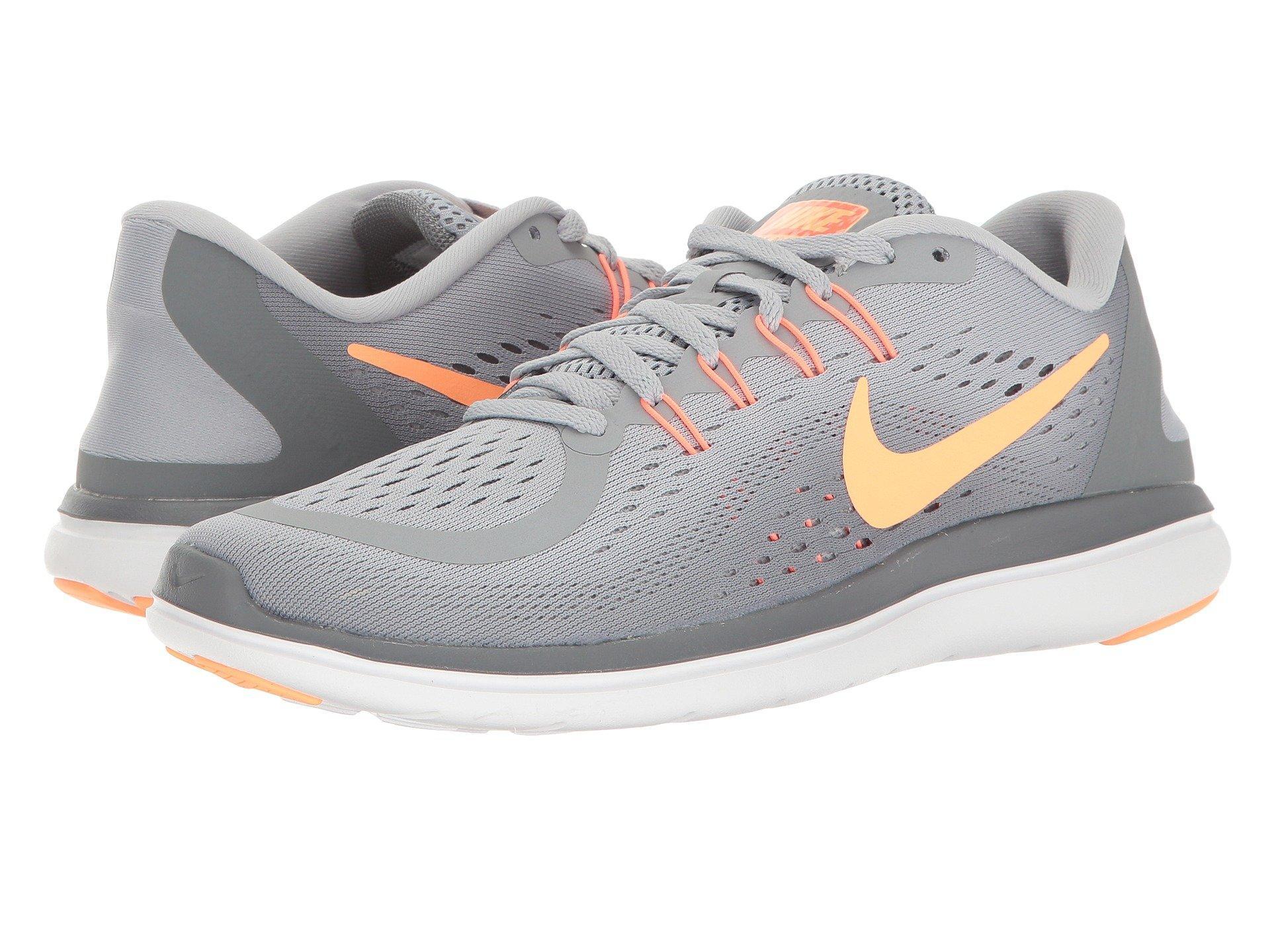 buy popular 0fa96 264ad Nike Flex Rn 2017, Wolf Grey Sunset Glow Cool Grey
