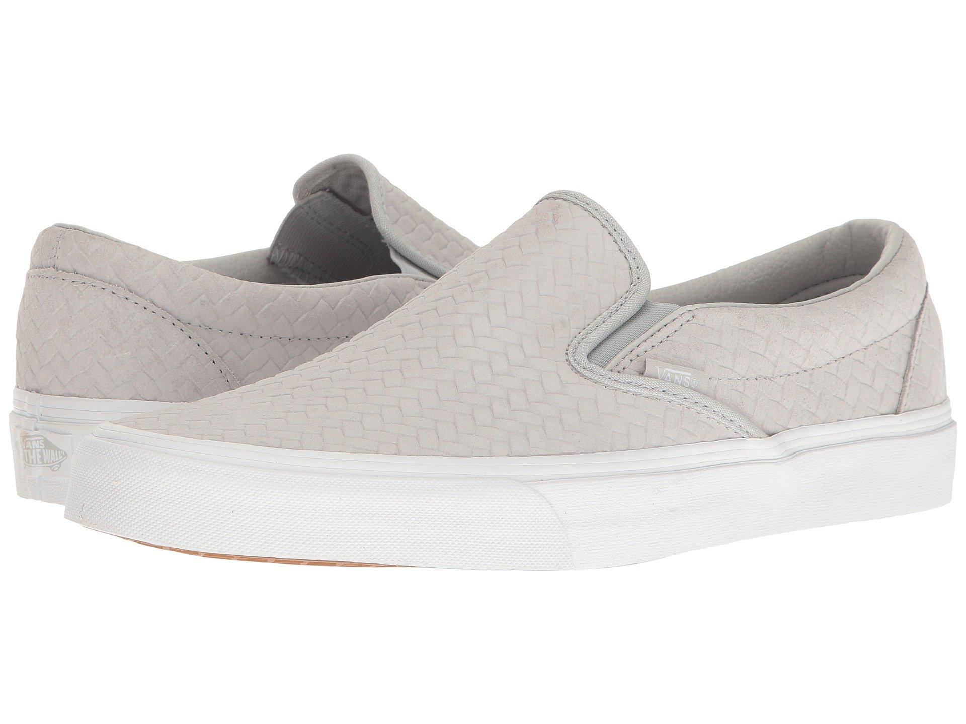 bc6dc3159d7bf6 Vans Classic Slip-On™ In (Embossed Woven Suede) Microchip