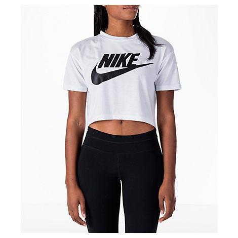 36a01231f2 Nike Women s Sportswear Essential Crop T-Shirt