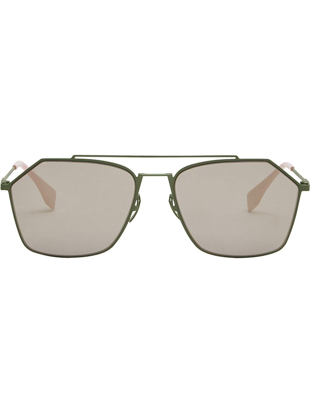 b5f4c238f8c7 Fendi Eyewear Air Sunglasses - Green. Farfetch