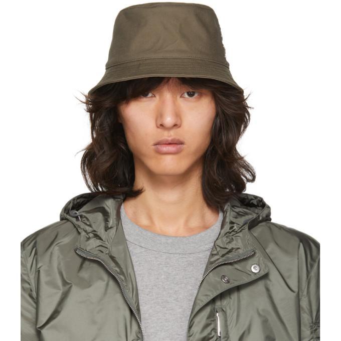 cfee769a360 Acne Studios Green Buk Bucket Hat In Safgreen