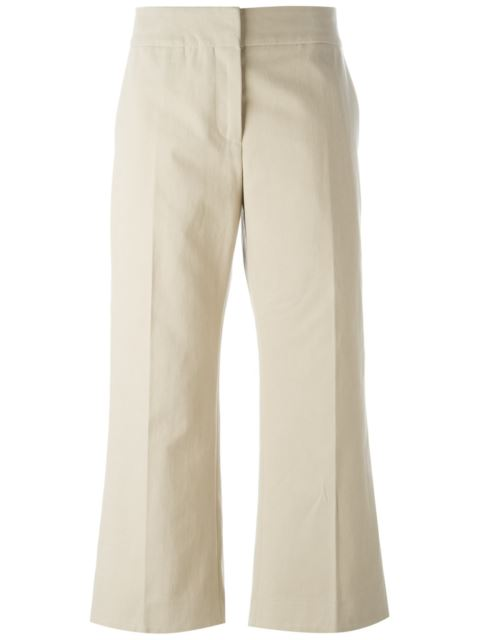 Marni Cropped Kick Flare Trousers