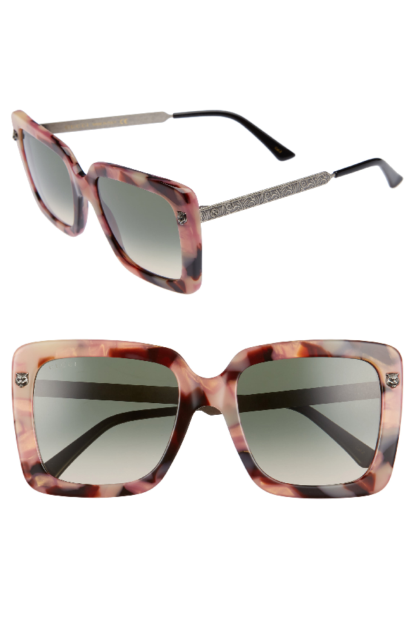 d72972c467785 Gucci Acetate Square Tiger Sunglasses
