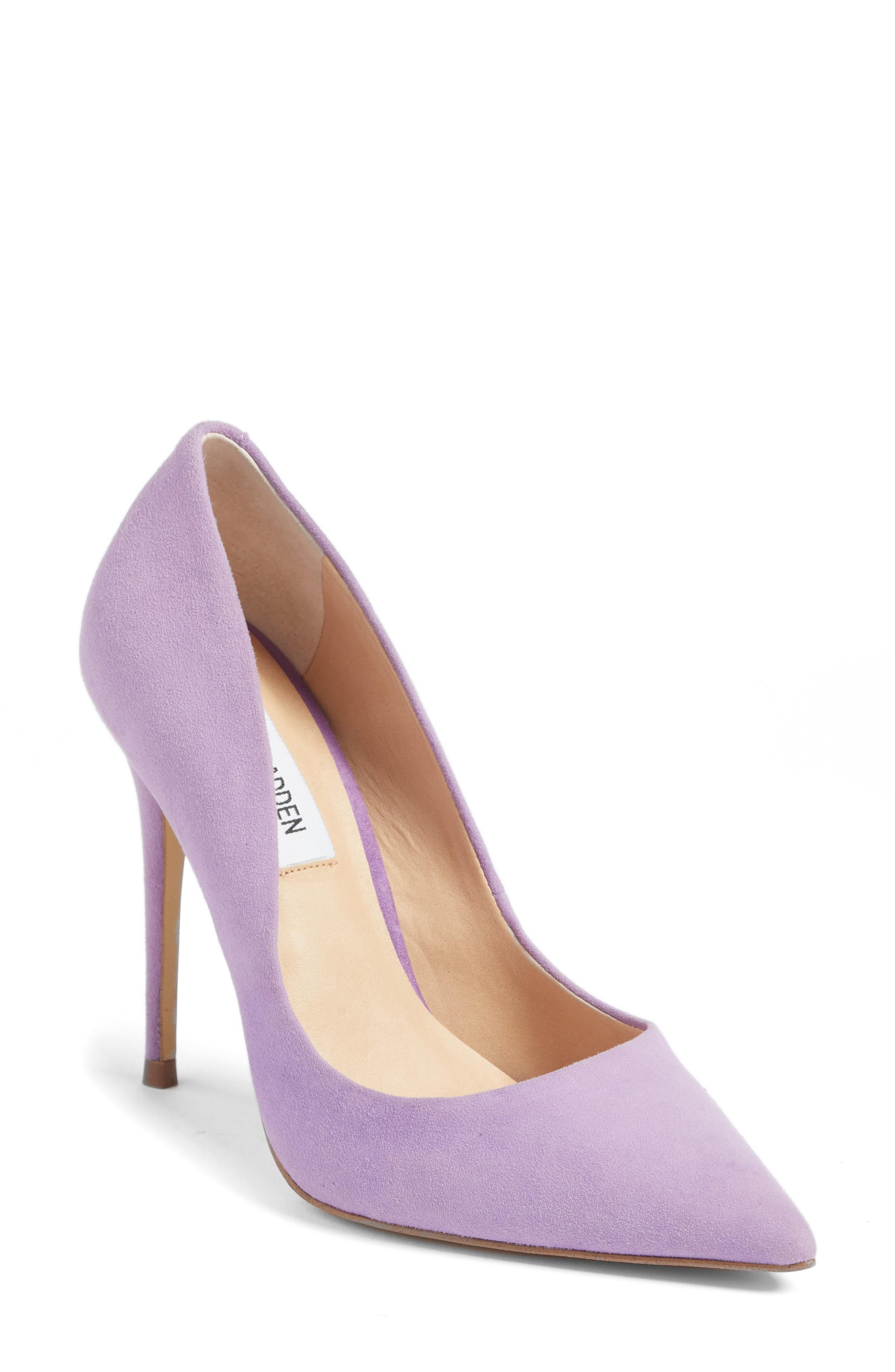 e60cbb04864 Daisie Pointy-Toe Pump in Lavender Suede