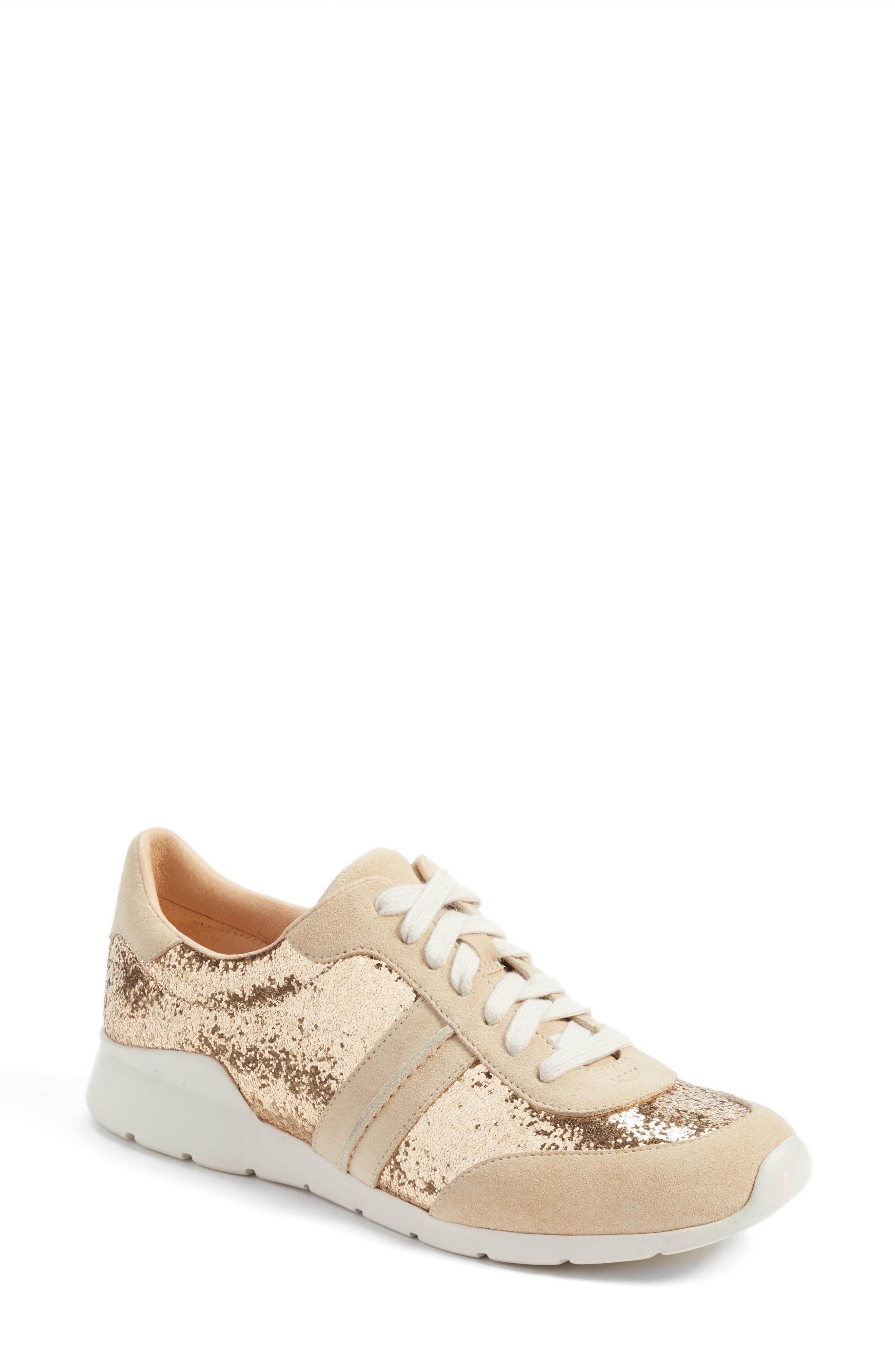 e5de0ada7ab Ugg Jaida Glitter Sneaker in Gold Suede