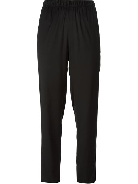 T By Alexander Wang Stretch Silk Trousers