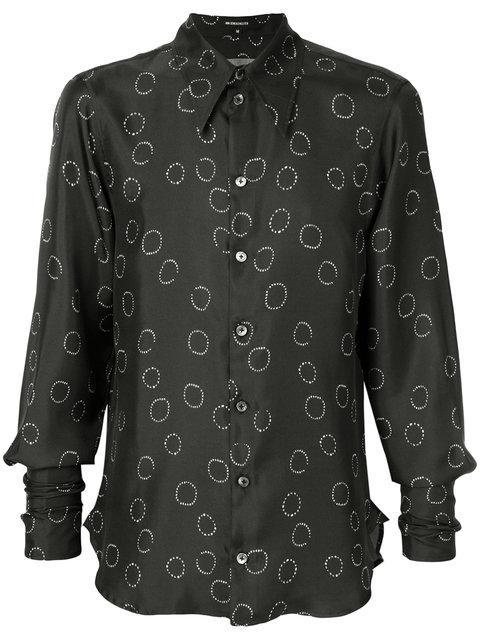 Ann Demeulemeester Printed Shirt - Black