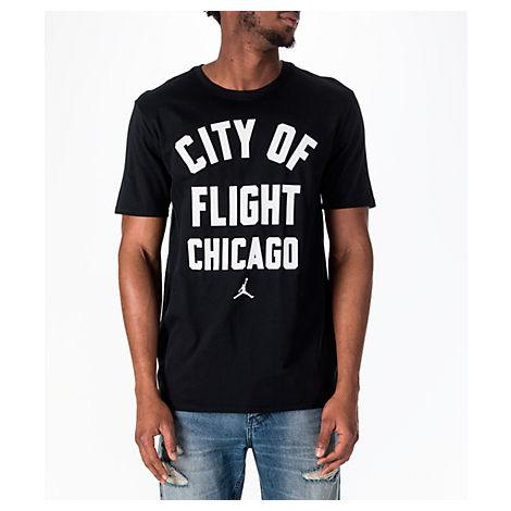 ad16ee054e19 ... in this short-sleeve hoodie that keeps you cool and dry all game long.  Style Name  Nike Jordan Sportswear City Of Flight T-Shirt. Style Number   5435412.