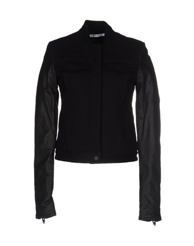 T By Alexander Wang Jackets In Black