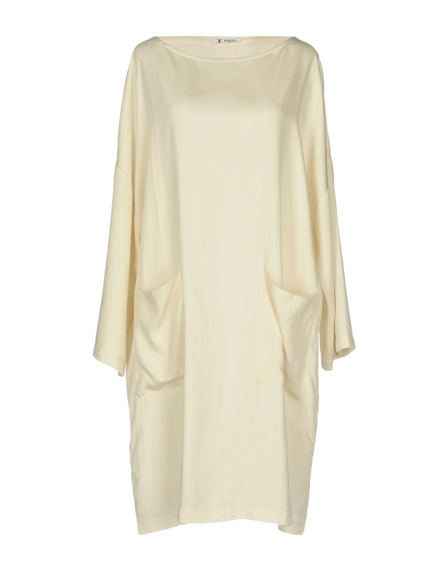 Barena Venezia Short Dresses In Ivory