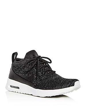7f3c10ea25 Nike Women's Air Max Thea Ultra Flyknit Lace Up Sneakers In Geranium/  Geranium