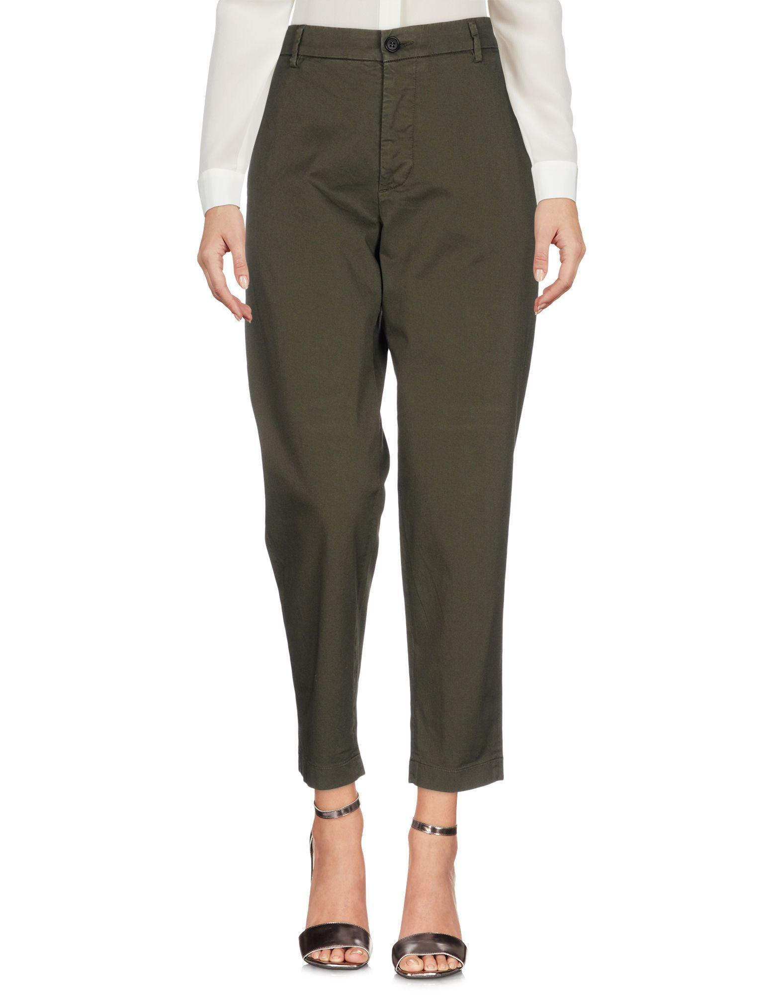 Barena Venezia Casual Pants In Military Green