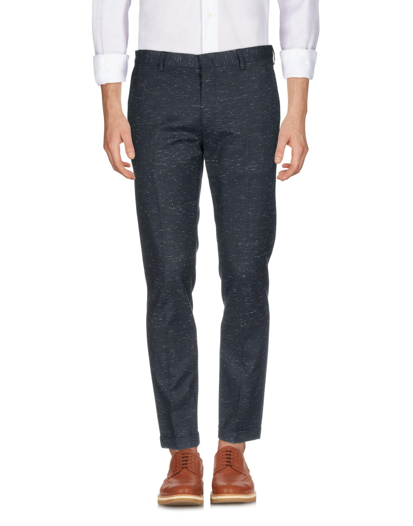 Paul Smith Casual Pants In Dark Blue