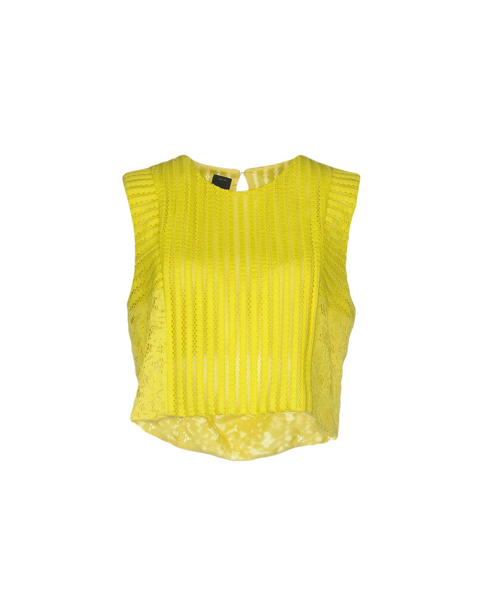 timeless design fe6d2 c664b Top in Yellow